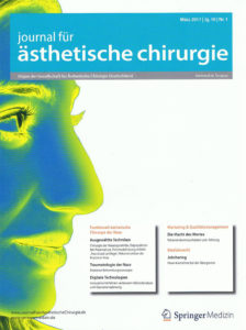 Специализированная статья о методе Crosspunch в журнале эстетической хирургии